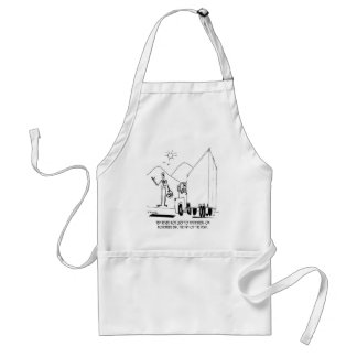 Day of the Dead Cartoon 7392 Standard Apron