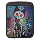 DAY OF THE DEAD cat IPAD SLEEVE