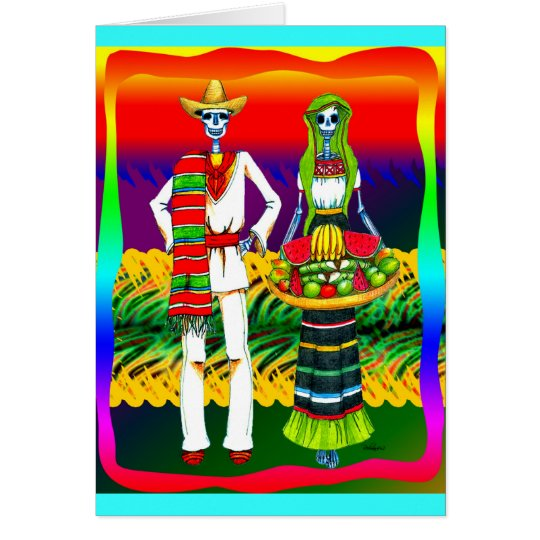 Day Of The Dead Celebration Card
