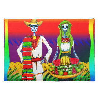 Day Of The Dead Celebration Placemat