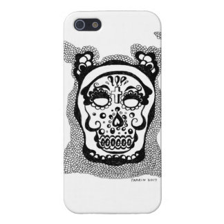 day of the dead cell phone cover iPhone 5/5S cases