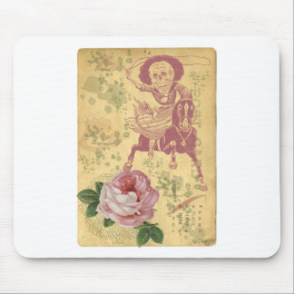 Day Of The Dead Cowgirl Cinco De Mayo Mouse Pad