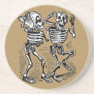 Day of the Dead Dance Coaster