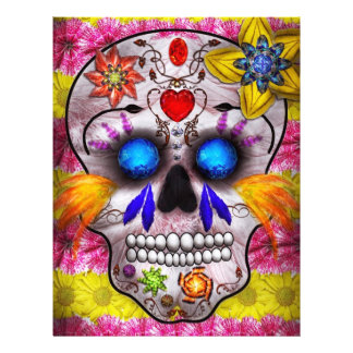 Day of the Dead - Death Mask 21.5 Cm X 28 Cm Flyer