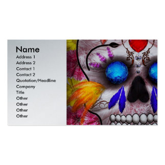 Day of the Dead - Death Mask Business Cards