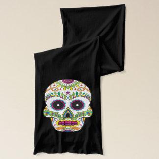 Day of the Dead - Dia de Muertos Sugar Skulls Scarf