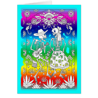 Day Of The Dead, Festival Greeting Card