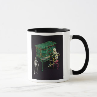 Day of the Dead figures as musicians Mug