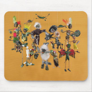 Day of the Dead figures, from Oaxaca Mouse Mat