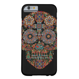 Day of the Dead Flower Sugar Skull iPhone 6 Case