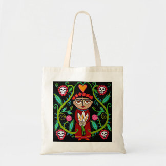 Day of the Dead Garden Tote Bag