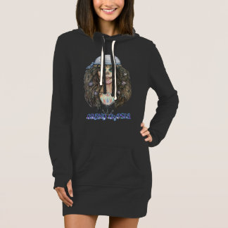 Day of the Dead Hoodie Dress