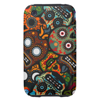 Day Of The Dead iPhone 3 Tough Covers