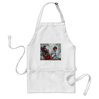 Day of the Dead Izabel Mermaid Apron