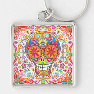 Day of the Dead keychain