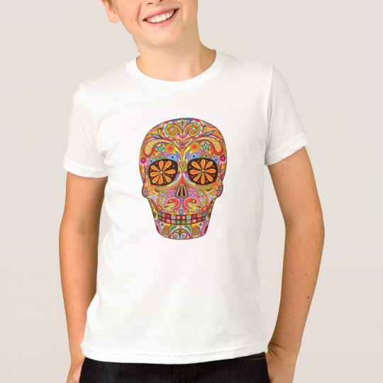 Day of the Dead Kids Shirt