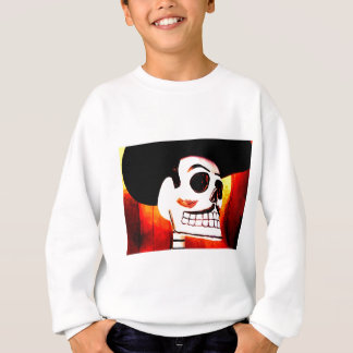 Day of the Dead Mexican art Sweatshirt