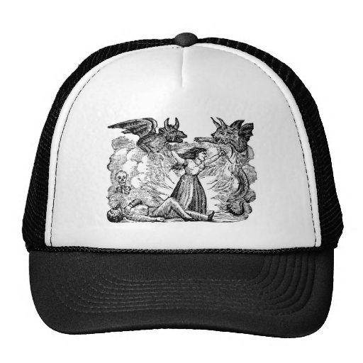 Day of the Dead, Mexico circa lates 1800's Trucker Hat