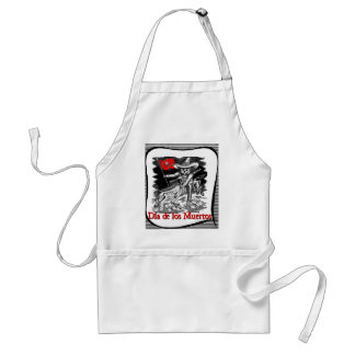 Day of the Dead motif 4 Standard Apron