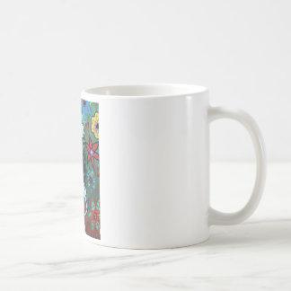 Day of the dead nurse painting coffee mug