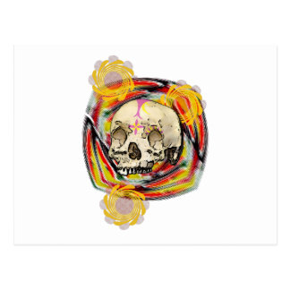 day of the dead post card