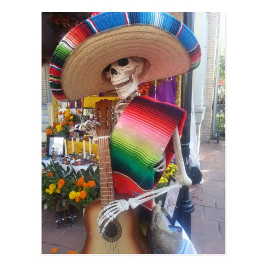 Day of the Dead Postcard