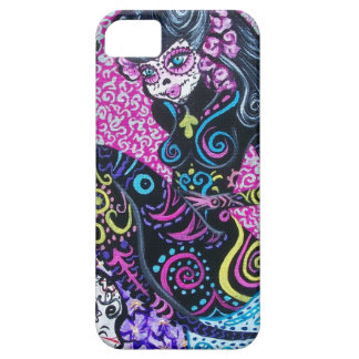 Day of the Dead Retro Mermaid iPhone 5 Case
