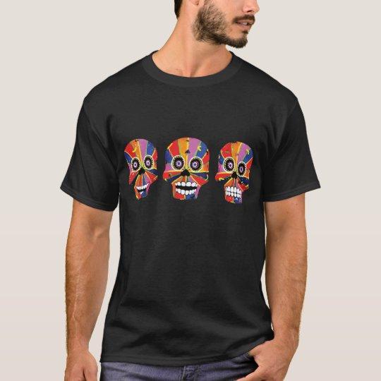Day of the Dead Skeleton Skulls T-Shirt