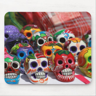 Day Of The Dead Skeletons Mouse Pad