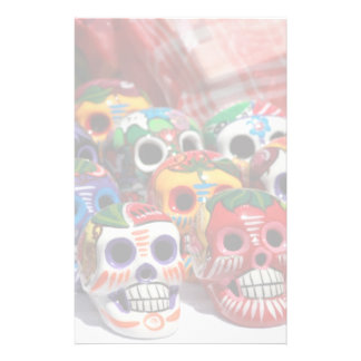 Day Of The Dead Skeletons Stationery