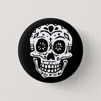 Day Of The Dead Skull 2 3 Cm Round Badge