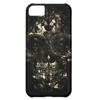 Day of the Dead Skull Death Mask Design iPhone 5C Case