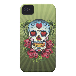 Day of the Dead Skull iPhone 4 Cover