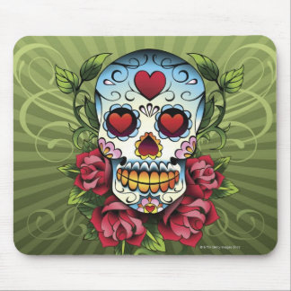 Day of the Dead Skull Mouse Mat