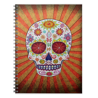 Day of the Dead Skull Notebook / Journal