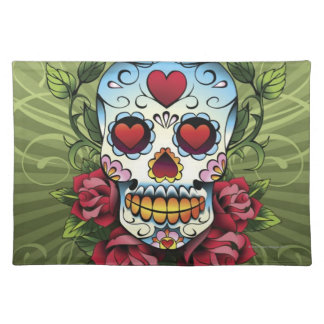 Day of the Dead Skull Placemat
