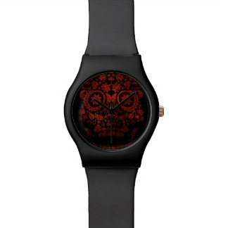 Day of the dead skull wrist watches