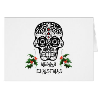 Day of the Dead Skull X-Mas Cards
