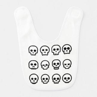 Day of the Dead - Skulls Baby Bib