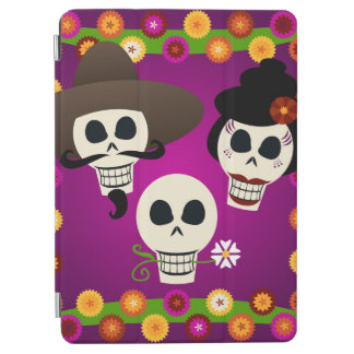 Day Of The Dead Skulls iPad Air Cover