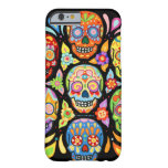 Day of the Dead Skulls iPhone 6 case by Barely There iPhone 6 Case