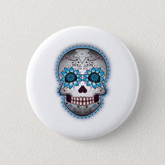 Day Of The Dead Sugar Skull 6 Cm Round Badge