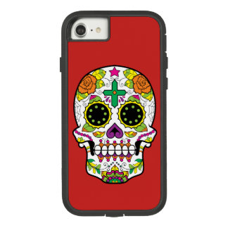 Day of the Dead Sugar Skull Case-Mate Tough Extreme iPhone 8/7 Case