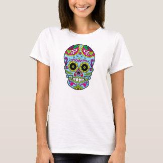 Day of the Dead Sugar Skull Dia de los Muertos T-Shirt