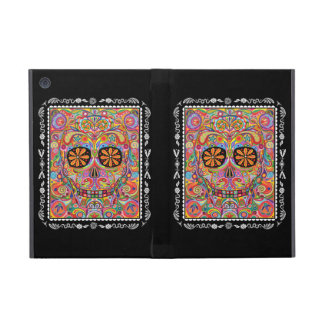 Day of the Dead Sugar Skull iPad Mini Case w Stand