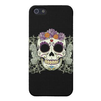DAY OF THE DEAD SUGAR SKULL iPhone 5/5S CASES