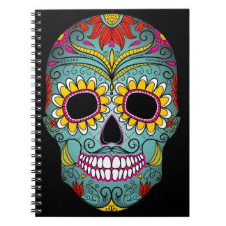 Day of the Dead Sugar Skull Notebook