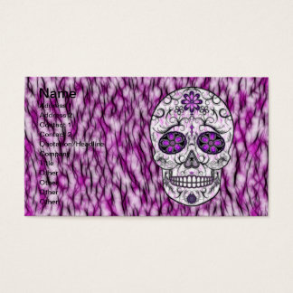 Day of the Dead Sugar Skull - Pink & Purple 1.0