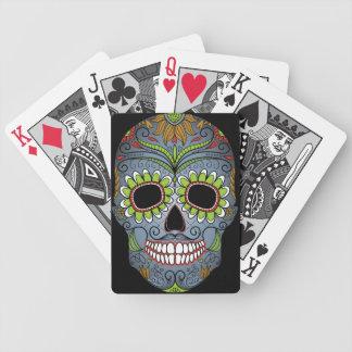 Day of the Dead Sugar Skull Poker Deck