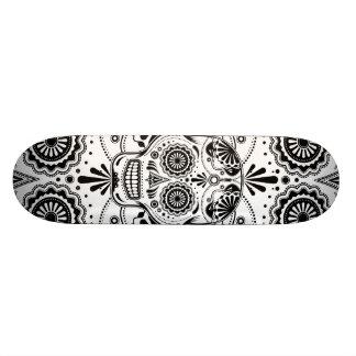 Day of the Dead Sugar Skull Skateboard